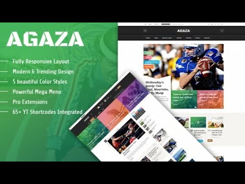 Smartaddons Templates SJ Agaza FREE Download