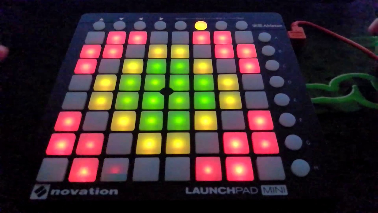alan walker faded launchpad mini mk2 project file youtube. Black Bedroom Furniture Sets. Home Design Ideas