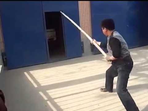 Yiquan long pole