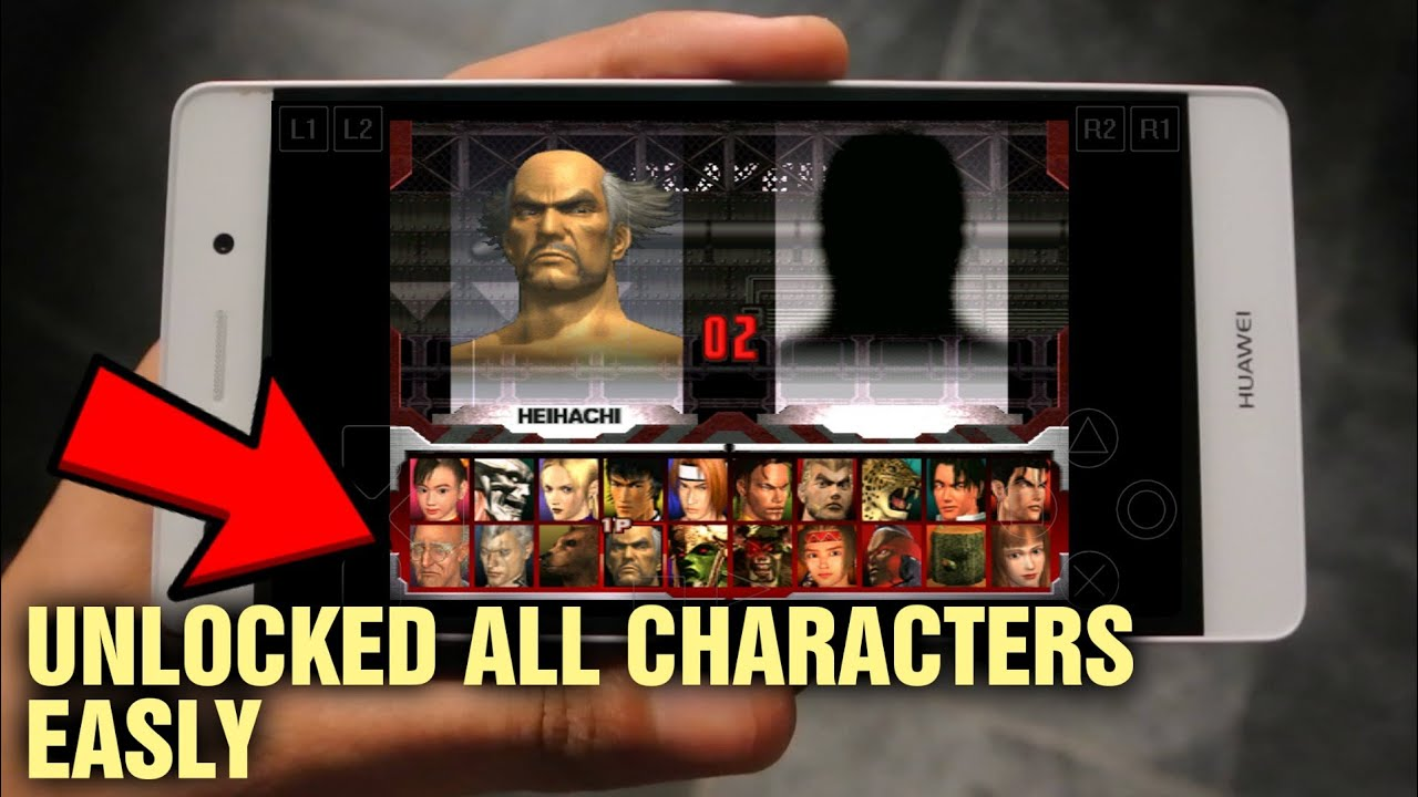 How To Unlocked All Characters Players In Tekken 3 Download Highly Compressed Iso File Youtube