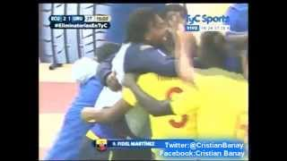 (Relato Emocionante) Ecuador 2 Uruguay 1 (Area Deportiva)  Eliminatorias a Rusia 2018