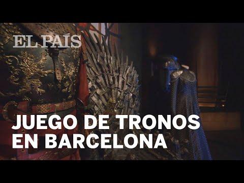 Arranca la exposición de Juego de Tronos en Barcelona   Cultura