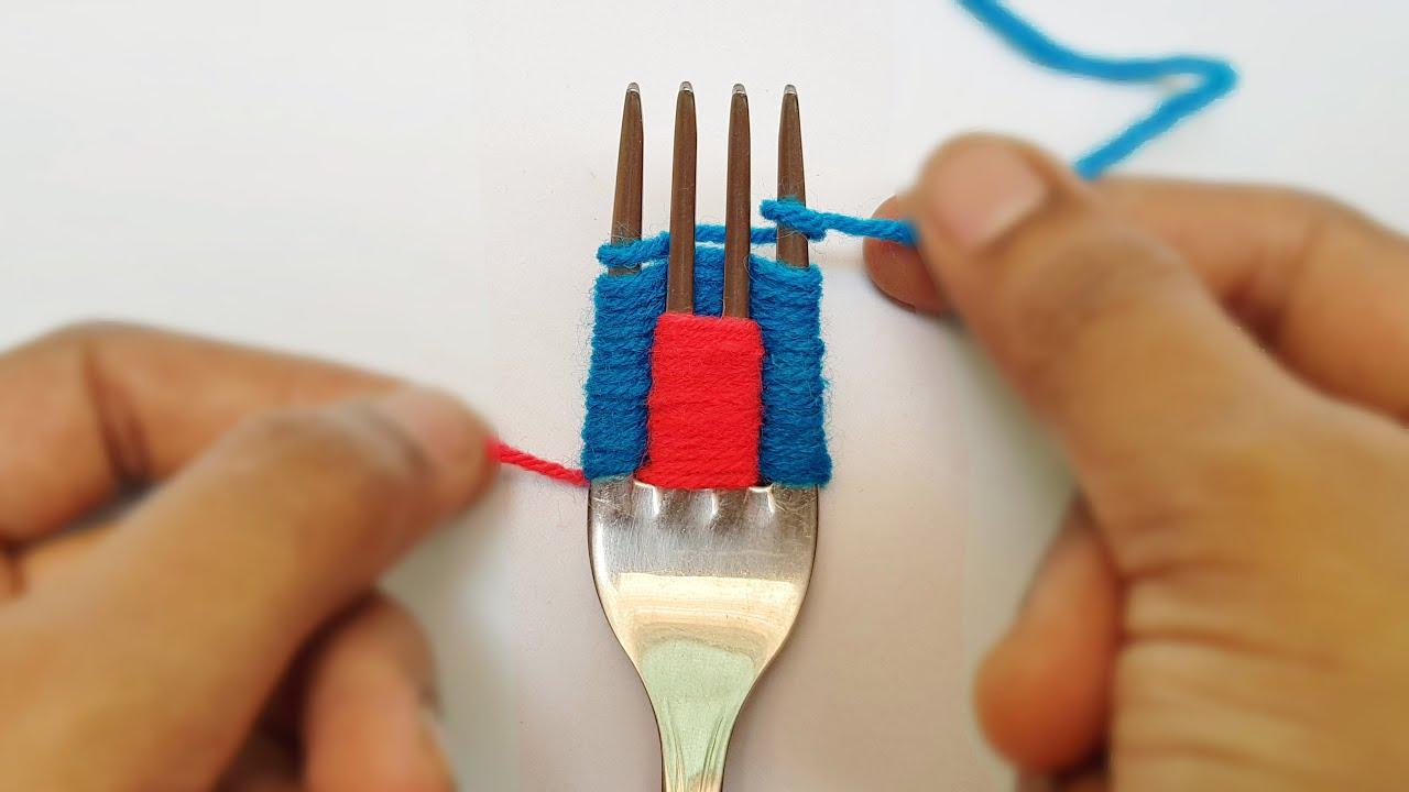 6 Wonderful Flower Crafts Ideas With Woolen Yarn Woolen Thread