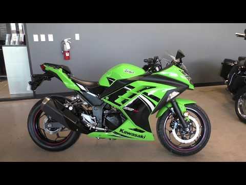 004403   2014 Kawasaki Ninja 300   EX300AESA Used motorcycles for sale