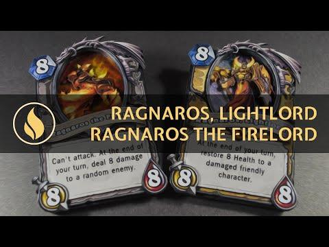 Hearthstone 3D: Ragnaros the Firelord & Ragnaros, Lightlord