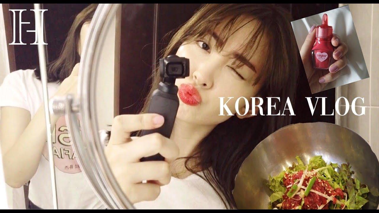 韓国で必ず行くお店とコスメとIZ*ONE 【VLOG✈️】