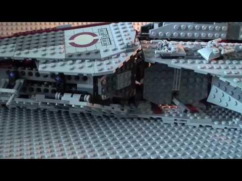 LEGO Star Wars Venator-Class Republic Attack Cruiser Review 8039 ...