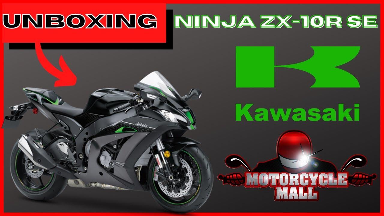 2018 Kawasaki Ninja Zx 10r Se Unboxing Youtube