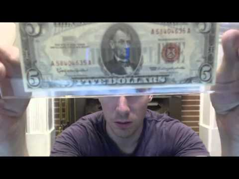 Federal reserve note vs United states note