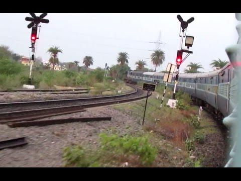 Speeding towards Chittaurgarh onboard Chetak Superfast