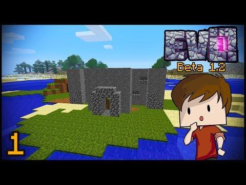 BACK TO BETA. Minecraft Evolution SMP #1