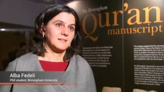 Birmingham Quran:1,500-year-old religious text goes on display in UK