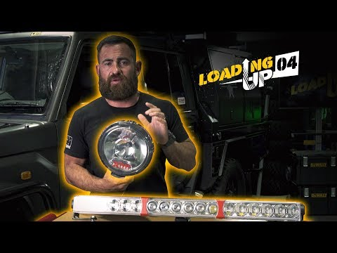 LED Vs HID Driving Lights - Loading Up 4 - Patriot Games