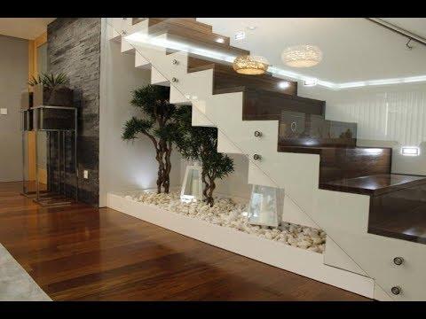 افكار مبتكرة لاستخدام المساحة تحت الدرج ديكورات رائعة
