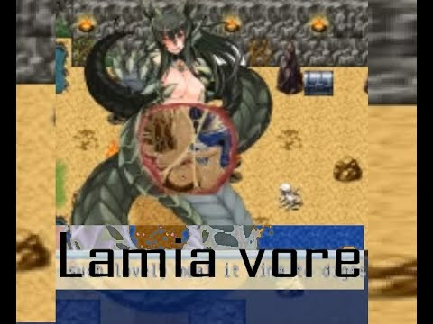 Lamia vore | forest monster HD