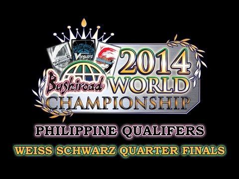 Weiss Schwarz Asia-Oceania Championship Philippine Qualifiers 2014 Quarter Finals