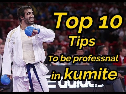 Top 10 Tips That Make You Professional In Karate Competition (Kumite)