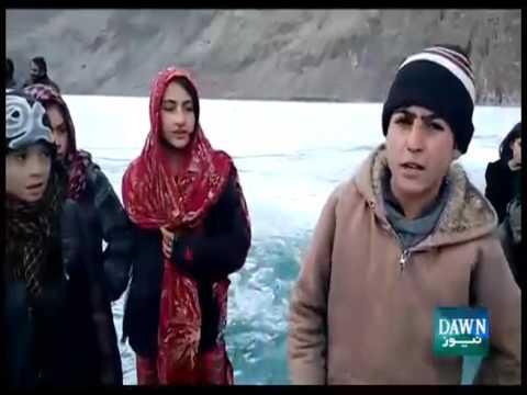 ٖٖٖFrozen lake In Gilgit Baltistan