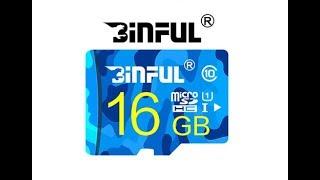 Teste de Velocidade MicroSD Bifun 16Gb Classe 10 - CHINA