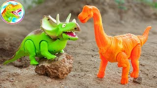 Long neck dinosaurs walk spawn colors - M5X ToyTV children's toys
