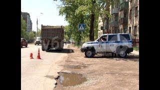 Тяжелые травмы получил бездомный, угодивший под самосвал в Хабаровске. MestoproTV