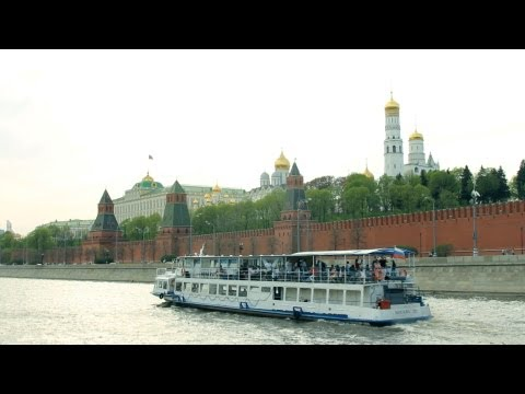 "Moskva River Boat Trip by The Center of Moscow. ""Real Russia"" ep.48"