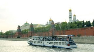 """Moskva River Boat Trip by The Center of Moscow. """"Real Russia"""" ep.48"""