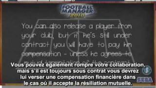 Football Manager 2010 - Interaction avec les joueurs - Tutoriel sous titré en français