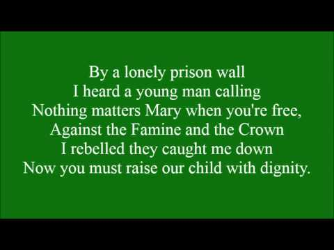 Fields of Athenry with lyrics