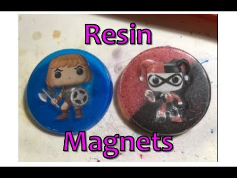 Resin Crafting: Funko Pop Magnets