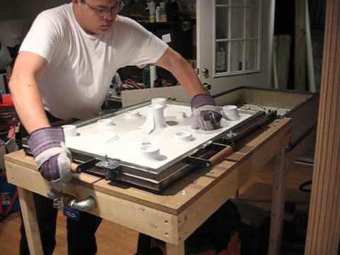 Vacuum Forming Clonetrooper Chest And Torso YouTube