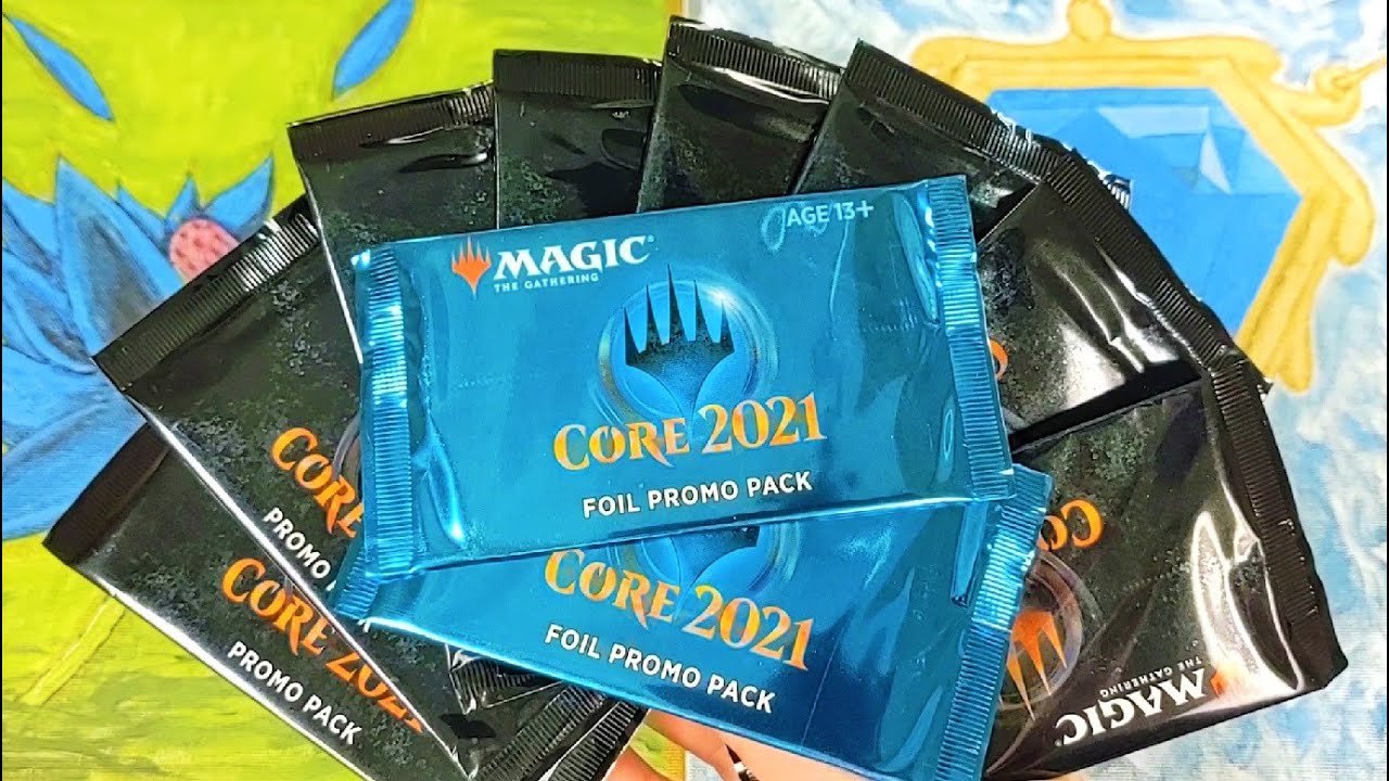 MTG CORE 2021 EXCLUSIVE FOIL PREMIUM PROMO BOOSTER PACK Magic the Gathering