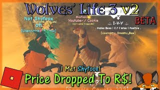 Roblox - Wolves' Life 3 v2 BETA - PRICE DROPPED! #30 - HD