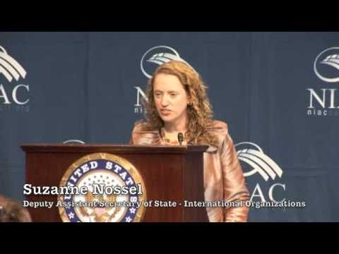 Suzanne Nossel Addresses the National Iranian American Council (NIAC) Human Rights Conference