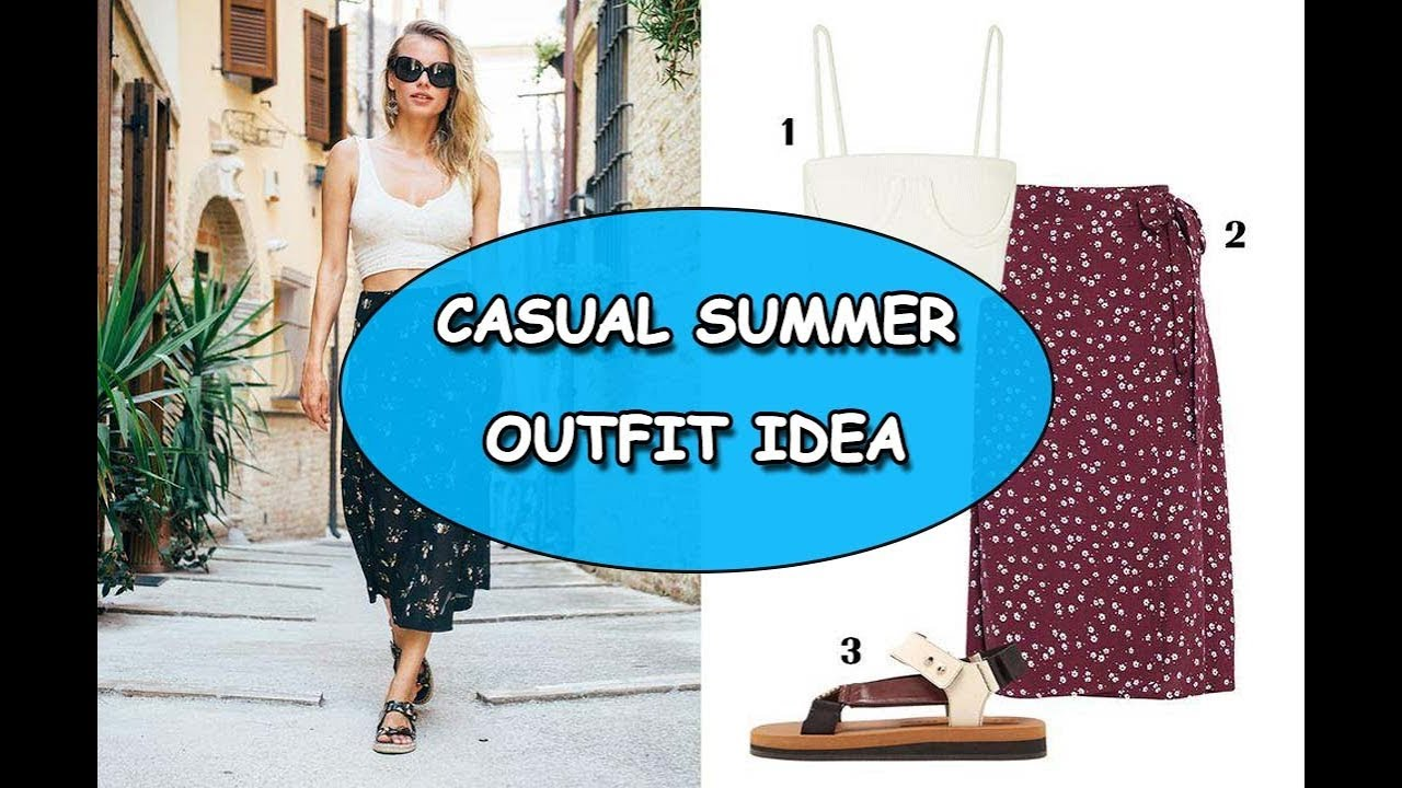 [VIDEO] - casual summer outfit idea 5