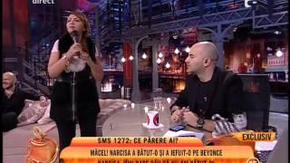 Narcisa Imi pare rau ca nu am batut-o pe Beyonce de Romania!