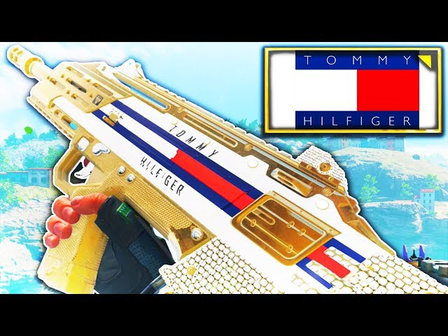 Tommy Hilfiger Custom Camo! (Emblem and Paintshop Tutorial)