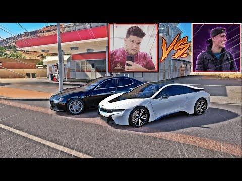 BMW I8 DO JON VLOGS VS MASERATI GHIBLI DO EDUKOF - FORZA HORIZON 3