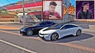 BMW I8 DO JON VLOGS VS MASERATI GHIBLI DO EDUKOF - FORZA HORIZON 3