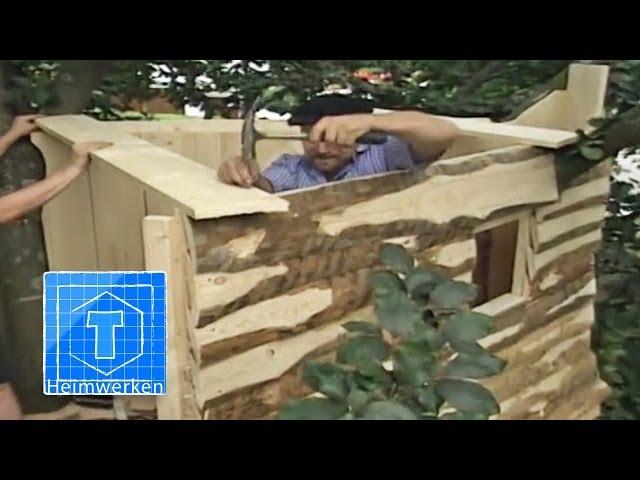 Baumhaus Selber Bauen Tooltown Heim Garten Youtube