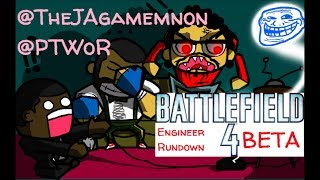Battlefield 4 Beta Engineer Gameplay and Commentary