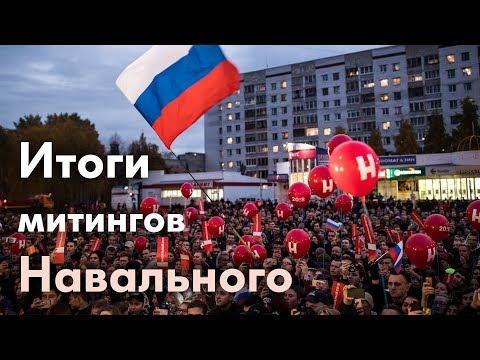 Митинги  в России 7.10.2017