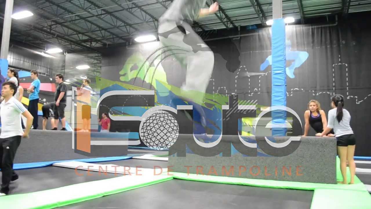 isaute centre de trampoline youtube