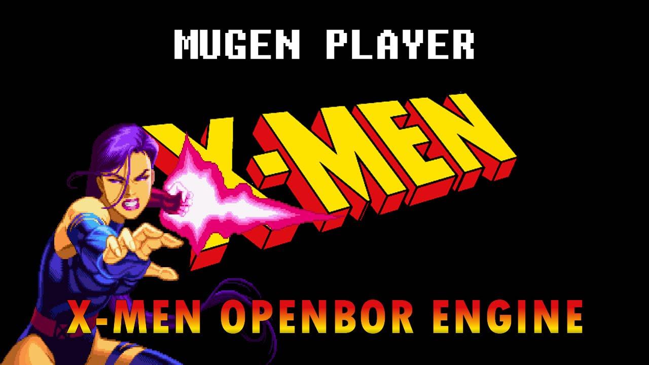 X-MEN OPENBOR by MUGEN PLAYER