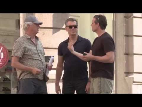 The November Man: Behind the Scenes 1 (Movie Broll) Pierce Brosnan, Olga Kurylenko