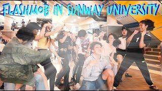 Flash Mob In Sunway University!!