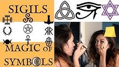 Manifestation & Magic. Magical Symbols, Sigils & Spells. Witchcraft, Pagan, Egyptian Symbolism