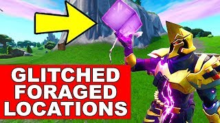 CONSUME GLITCHED FORAGED ITEMS LOCATIONS (Fortnite Season 10 Week 4 Junk Storm Challenges)