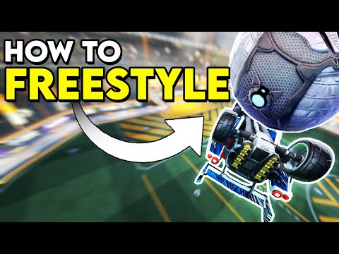How To FREESTYLE In ROCKET LEAGUE | Freestyling Tutorial + Tips