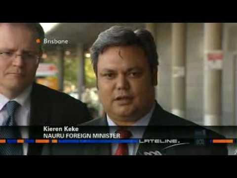 Nauru keen to have migrants back.